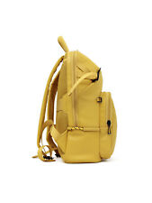 Man backpack bag Piquadro Kyoto CA4923S106/G yellow leather laptop ipad rucksack