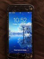Apple iPhone 6s - 16GB - Black Space Gray (Sprint) - Cracked -