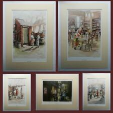 Lithograph Medium (up to 36in.) Children & Infants Art Prints