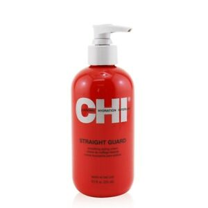 NEW CHI Straight Guard Smoothing Styling Cream 251ml Mens Hair Care