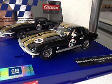 Carrera Digital 132 30689 CHEVROLET CORVETTE STING RAY 427 n. 14 novità USA