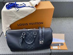 NEU Louis Vuitton Keepall 50 Fullset Rechnung Box Schulterriemen 2019