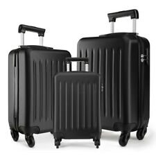 Ryanair Case Cabin 4 Wheels Spinner Trolley Luggage Suitcase Black 48*30*20
