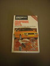 Chilton's Repair and Tune-Up Guide Manual Golf/ Passat/ Rabbit/ Scirocco 1974-80