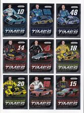 ^2016 Panini PRIZM QUALIFYING TIMES Complete 9 card set BV$30! SCARCE!