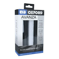 Oxford Motorcycle Bike Anodised Alloy Non Slip AVANZA 22mm Grips Black OX611