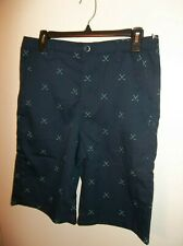 NWT Boys Size 20 Under Armour Match Play Golf Print Navy Shorts New $49.50