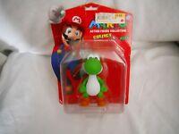 Yoshi Nintendo Super Mario Brothers Action Figure Green Vinyl 5 Inches  2009 New