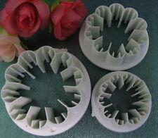 Set of 3 Carnation Sugarcraft Cake Decorating Cutters