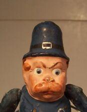 Very Rare Palmer Cox Brownie Policeman Doll, 5 inches tall