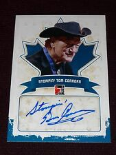 "10-11 ITG Canadiana Stompin' Tom Connors Autograph RARE AUTO ""The Hockey Song"""