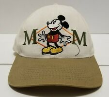 Vintage Mickey Mouse Disney 100% Ultra Deluxe Snapback Hat Cap