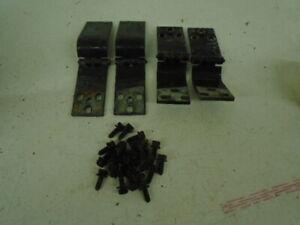 73-91 CHEVY GMC BARN DOOR HINGES REAR BARN DOORS 81-91 SUBURBAN    SET #2