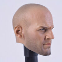 1/6 Jason Statham Headplay A01 PVC Head Sculpt Fit 12'' Male Body Action Figure