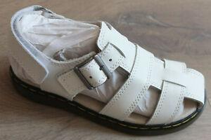 Dr.Martens Leather T-Sandalen Size 31 UK 12 US 13 New