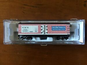 Atlas N Scale #41492 - 40' Wood Reefer Ralston Purina - New in Box/Mint