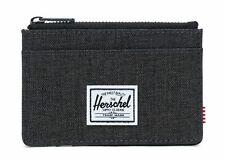 Herschel Oscar RFID Wallet Black Crosshatch