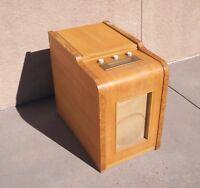 Farnsworth Wooden Art Deco Radio and Turntable GK-267
