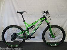 2015 INTENSE DVO TRACER T275 LRG CARBON MOUNTAIN BIKE 650B ENDURO BLACK/GREEN