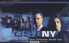 Strictly Ink CSI: NY (New York) Series One (1) Box