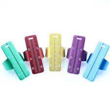 Jampj Ortho Dental Aluminum Metal Endodontic Endo Finger Ruler Optional Color