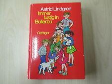 Astrid Lindgren - IMMER LUSTIG IN BULLERBÜ - Oetinger - HC - (18094)
