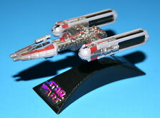 STAR WARS Y-WING BATTLE DAMAGE TITANIUM SERIES DIE-CAST