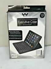 West View Executive Case W/ Keyboard For iPad - Light Blue