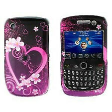 Purple Love Hard Case Cover for BlackBerry Curve 8530