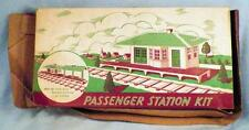 Plasticville Passenger Station Kit R5-8 Vintage O Scale 1950s As Is