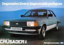Ford Cortina Crusader Mk V 1982 car New Jumbo Fridge Magnet