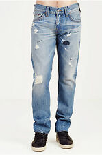 NWT TRUE RELIGION JEANS $249 GENO DISTRESSED TRIPLE NEEDLE IN MAIN STAGE SZ 40
