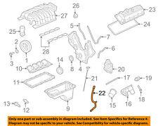 FORD OEM 05-10 Mustang 4.6L-V8 Engine-Oil Tube 4R3Z6754BA