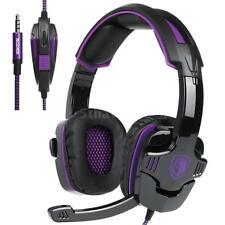 Pro PC XBOX Gaming Headset Noise Cancellation Stereo Headphone Headband MIC W0S3