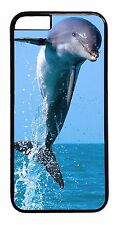 Dolphins Ocean Wild Life Case iPhone6 6+ 5 5S 5C 4 4S TPU Rubber or Hard Cover
