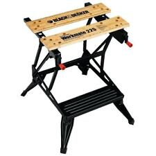 Black & Decker WM225 450-Pound Capacity Non-Skit Flat Folding Portable Workbench