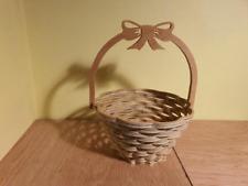 Wooden basket Woven Bag
