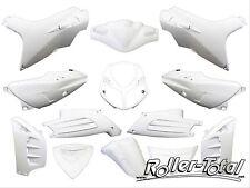 Verkleidungsset weiß matt 13 Teile Peugeot Speedfight 2 Bodypart Kit Set