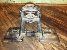 "Vintage Factory Industrial Line Shaft Machinery Bracket 11"" W X 4"" D X 6-1/2"" T"