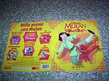ALBUM figurine MULAN PANINI 1998 COMPLETO OTTIMO TIPO DISNEY SERIE TV MANGA