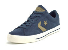 Converse Star Player Ox Mens Dark Grey Suede Trainers - 9 UK