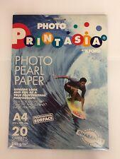 40 Sheets Ilford Printasia Photo Pearl Paper A4 240gsm