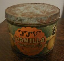 Vintage Tin from Southern Biscuit Company Original Paint FFV Vanilla Wafers