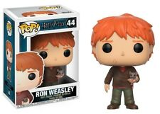 Funko - POP Harry Potter: Ron Weasley w/ Scabbers Brand New In Box