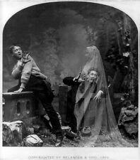 "Vintage ""Spirit Photo"",1889"