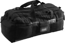 "Black Military Mossad Double Strap Duffle Bag 34"" x 15"" x 12"""