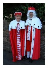 Queen Of Hearts Ex Hire Sale Fancy Dress Outfit  Costume