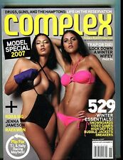 Complex Magazine November 2007 Model Special EX No ML 051117nonjhe