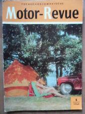 Tschechoslowakische MOTOR REVUE 5 - 1964 Moto Cross Skoda-Klub Octavia VELOREX