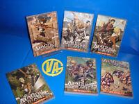 Peliculas serie anime DVD-EL ATAQUE DE LOS TITANES-6 DVDS